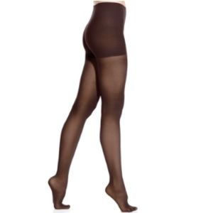 DKNY comfort luxe semi opaque tights brown